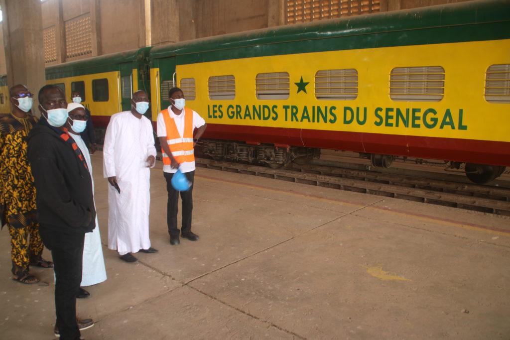 Visite du Directeur Général des GTS à la Direction technique (département du train)