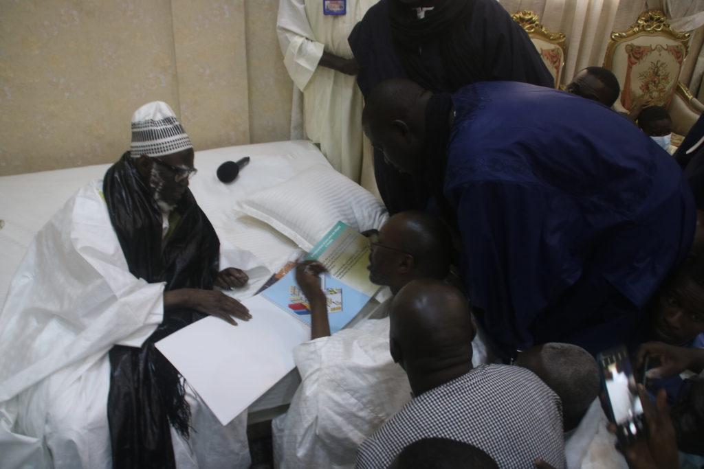Ambitieux projet de GTS pour Touba : Le DG Samba Ndiaye reçu par Serigne Mountakha