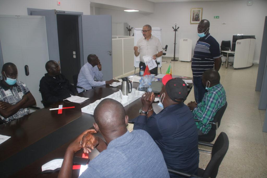 Quatrième jour de formation à l'IFF : Entre exercices et stimulation psychologique pour les stagiaires de GTS-SA