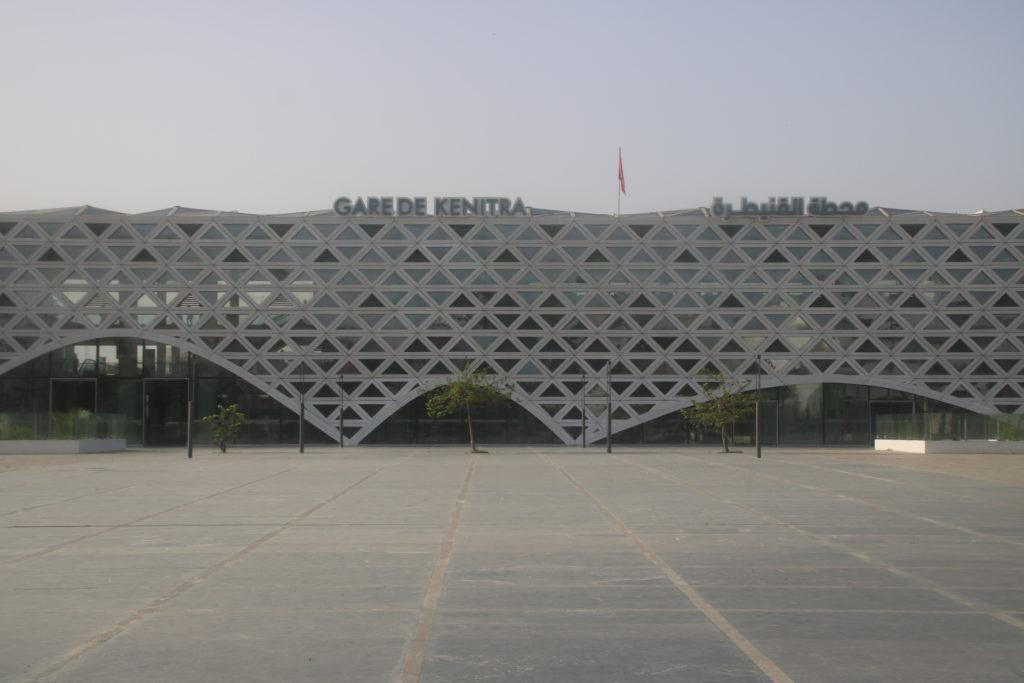 Gare de Kenitra : A la découverte d'un écrin architectural