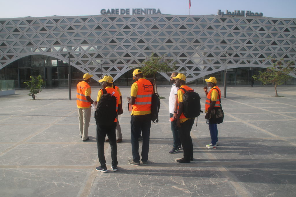 Cinquième jour de formation à l'IFF : Les Stagiaires de GTS-SA en expédition à Kenitra et Meknès