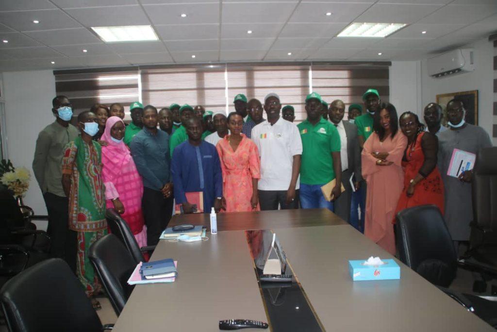 GTS-SA : Cérémonie de départ de 10 agents en formation au Maroc